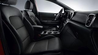 Jouda tekstiliniai sėdynių apmušalai su eko odos intarpais GT-Line (MY20)